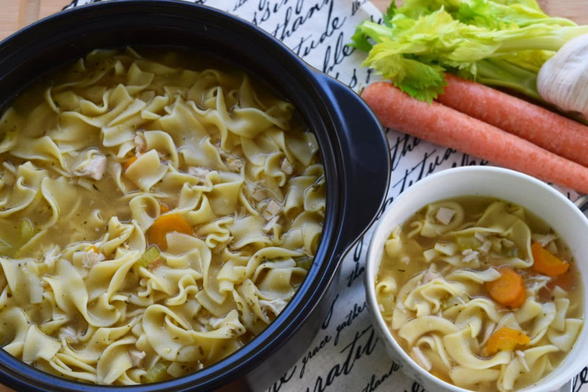 Chicken Noodle Soup - Ultimate Comfort Food - Soulfully Made