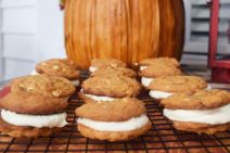 https://www.soulfullymade.com/white-chocolate-caramel-pumpkin-spice-sandwich-cookies/