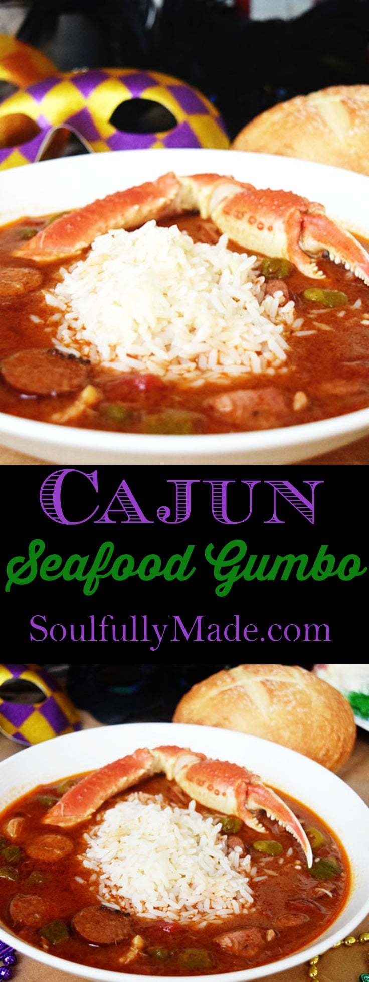 Cajun Seafood Gumbo