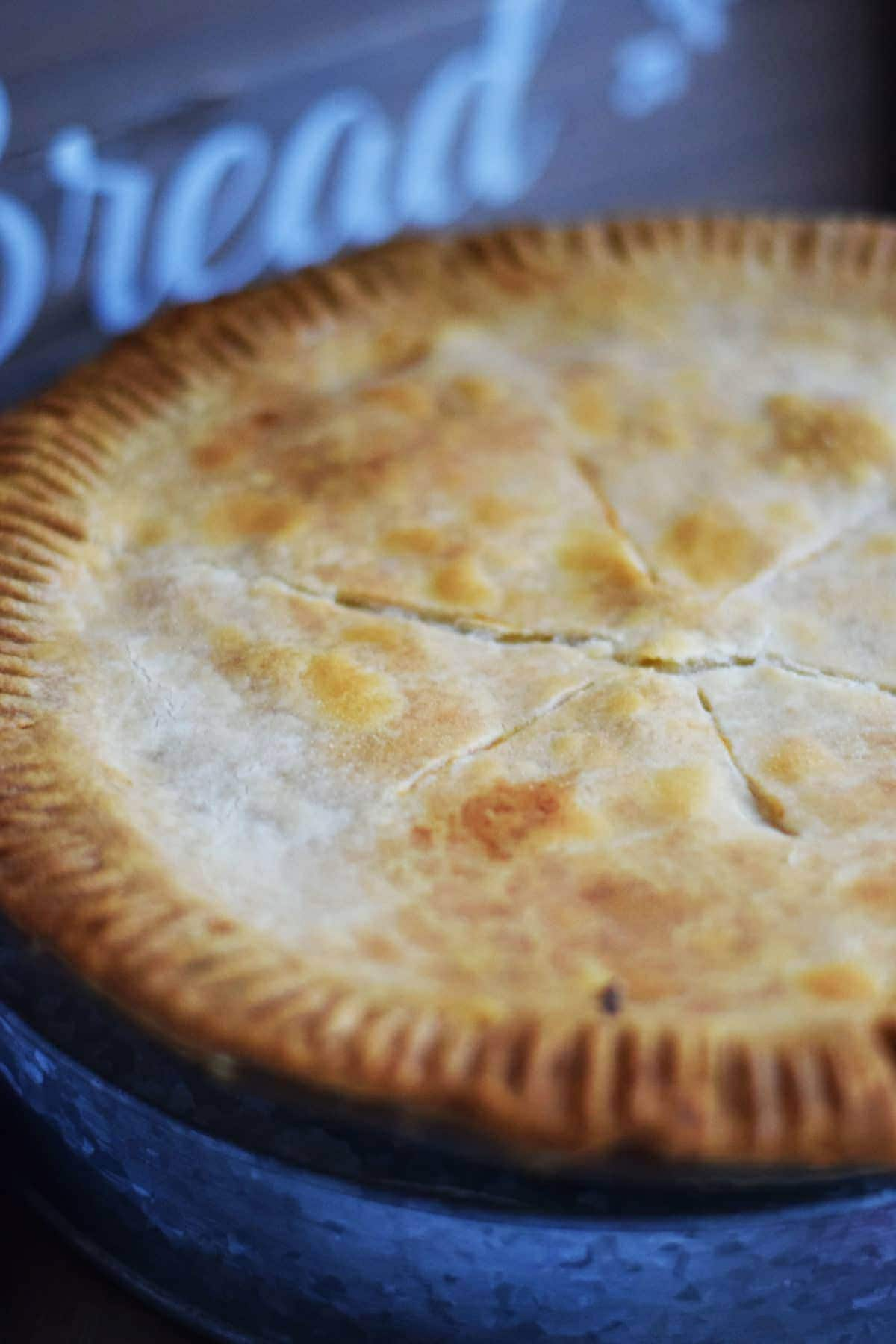 Easy chicken pot pie soulfully made let me just confess i cut right into this pie without letting it set now it will set up a little better for a prettier slice if you wait 10 minutes or forumfinder Images