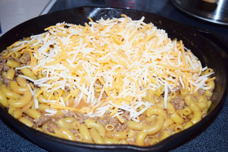 Cheese in Skillet