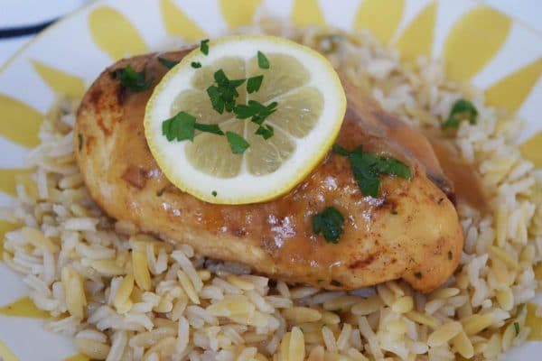 Garlic and Lemon Glazed Chicken