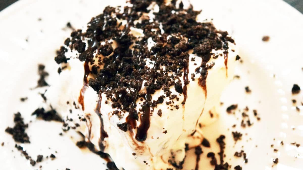 Oreo Ice Cream Dessert