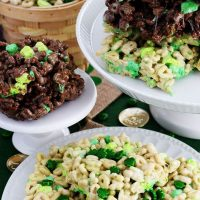 Lucky Charms Cereal Treats for St Patricks Day