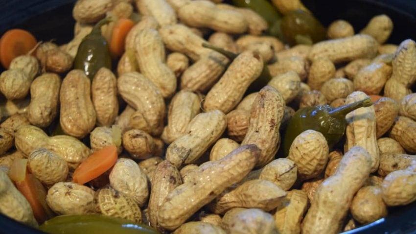 Boiled Peanuts in Crock Pot