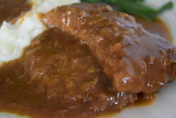Crock Pot Country Steak with Gravy