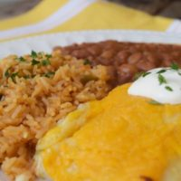 Enchildas with Rice & Beans