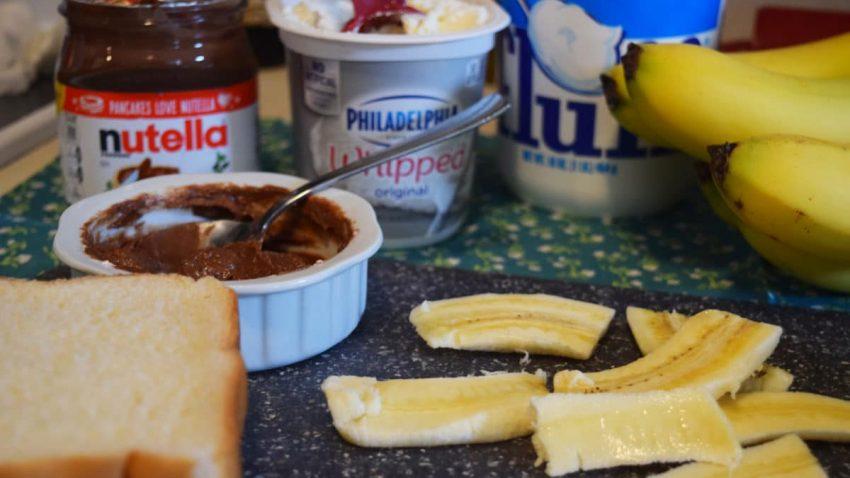 Banana FluffaNutella Ingredients