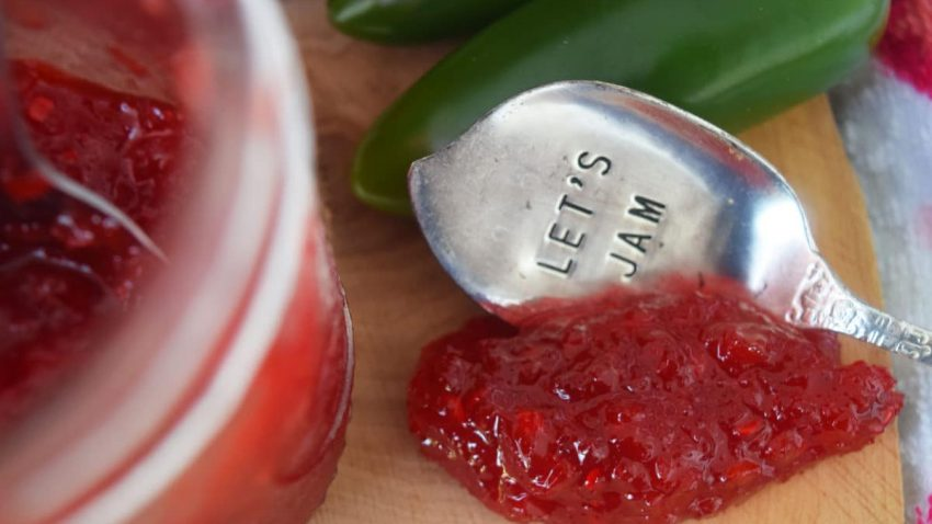 Green Tomato Strawberry Jalapeno Jam.j