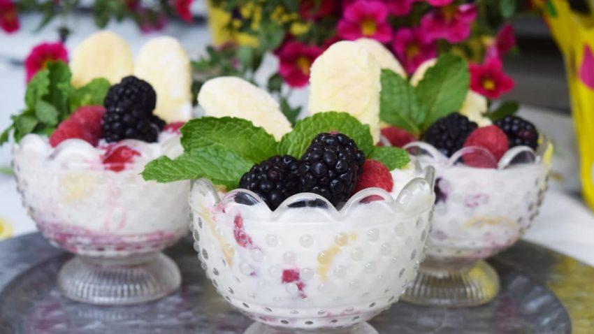 Lemon Berry Trifles