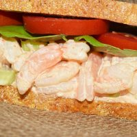 Shrimp Salad Sandwich | #SundaySupper