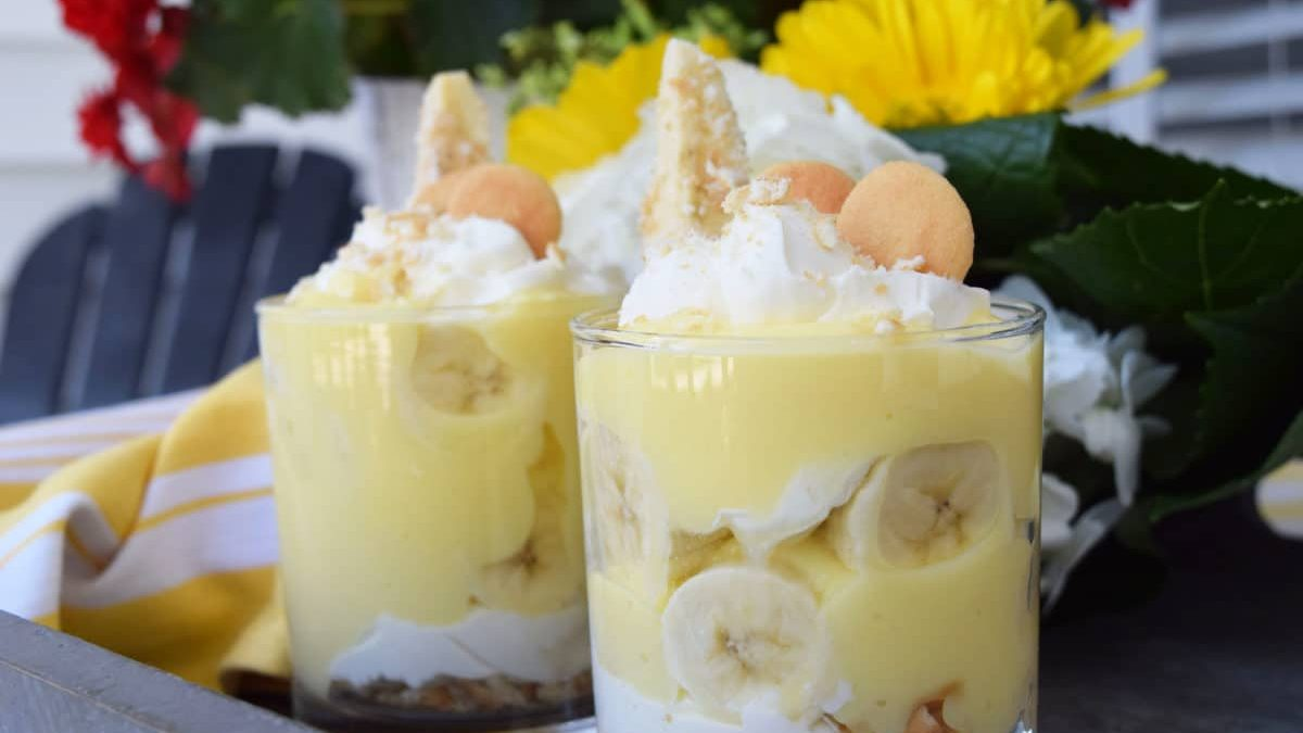 Banana Pudding Cheesecake Parfait