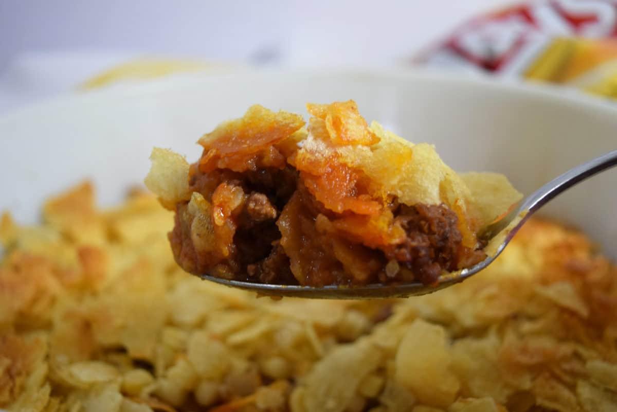 Bite of Mimi's Potato Chip Casserole