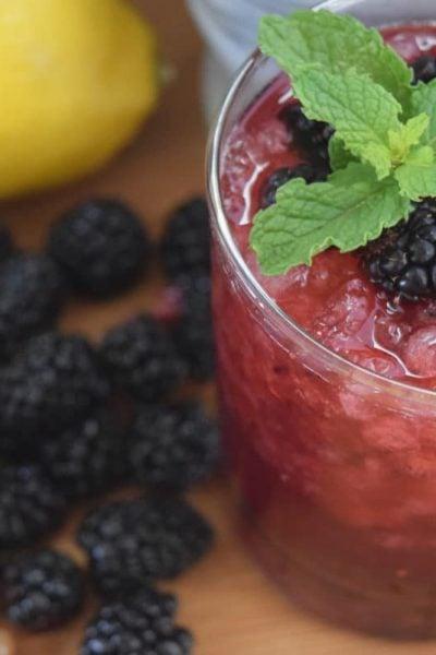 Blackberry Wish Cocktail