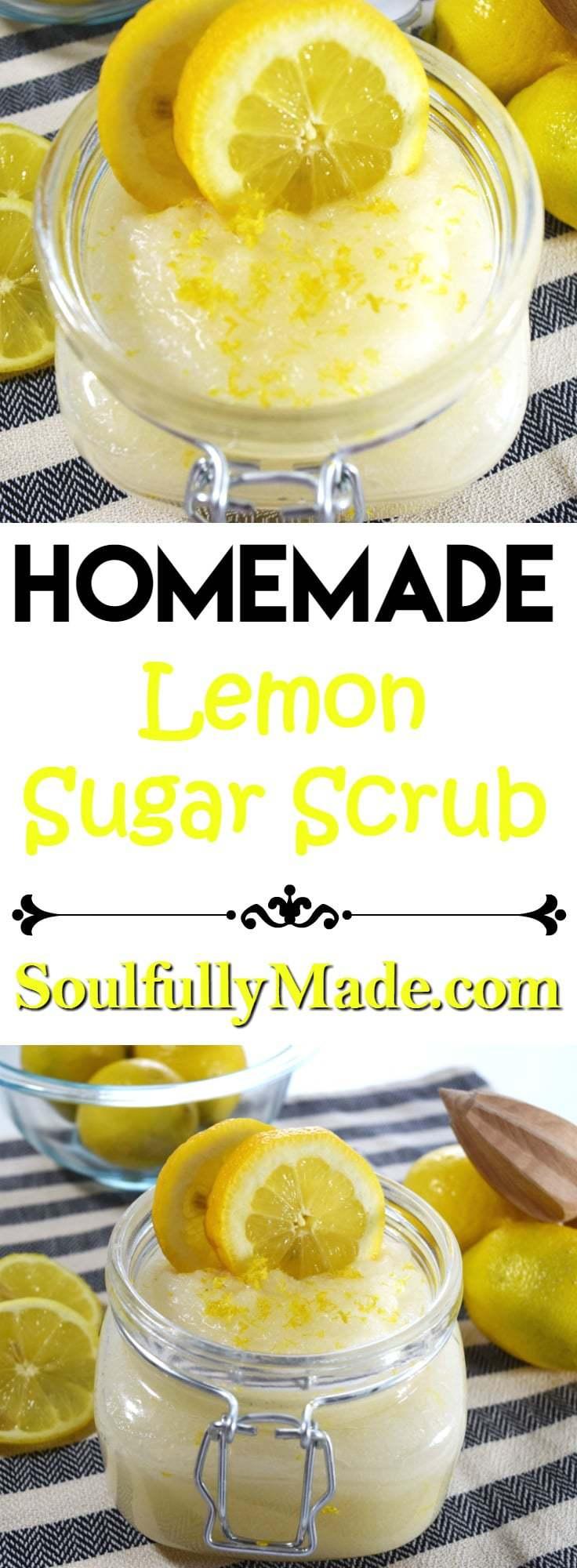 Homemade Sugar Scrub Pin