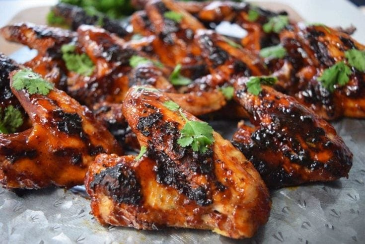 Honey Chipotle BBQ Wings