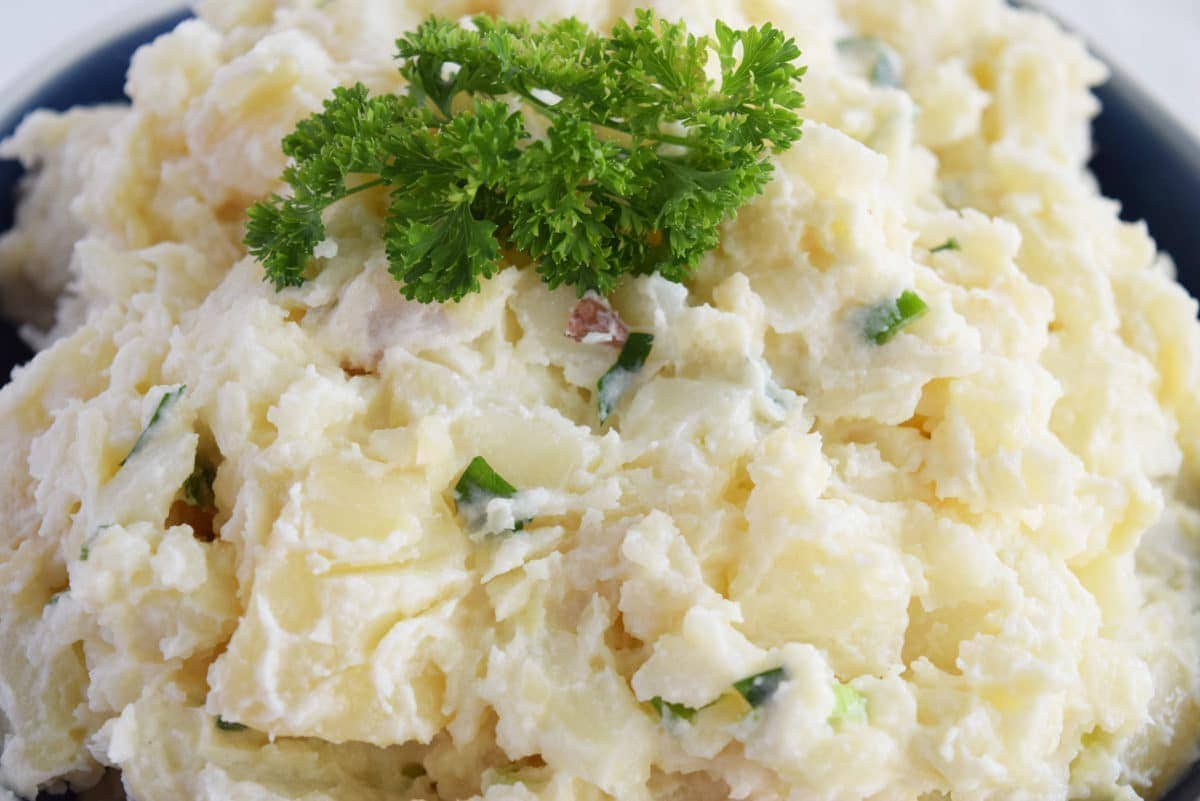 It's all Greek Potato Salad.
