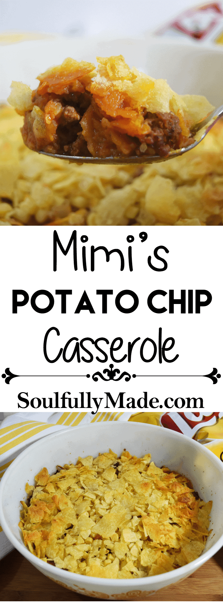 Mimi's Potato Chip Casserole Pin