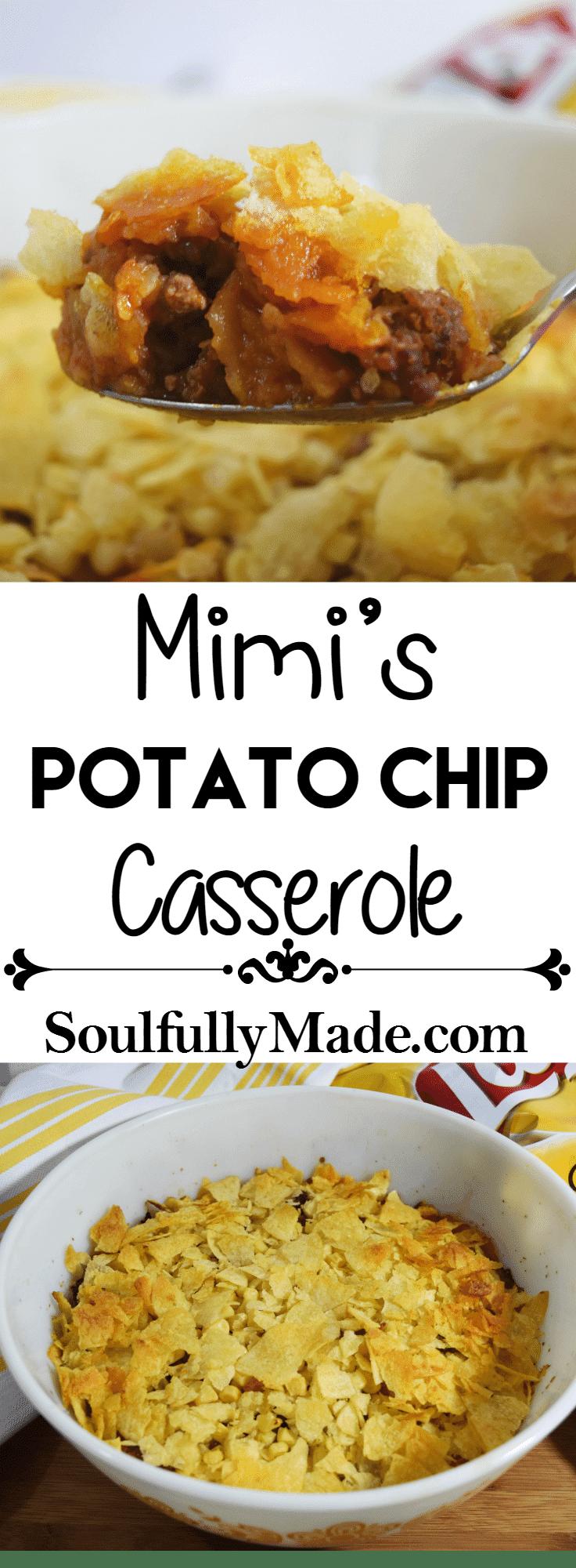 Mimi's Potato Chip Casserole Pin