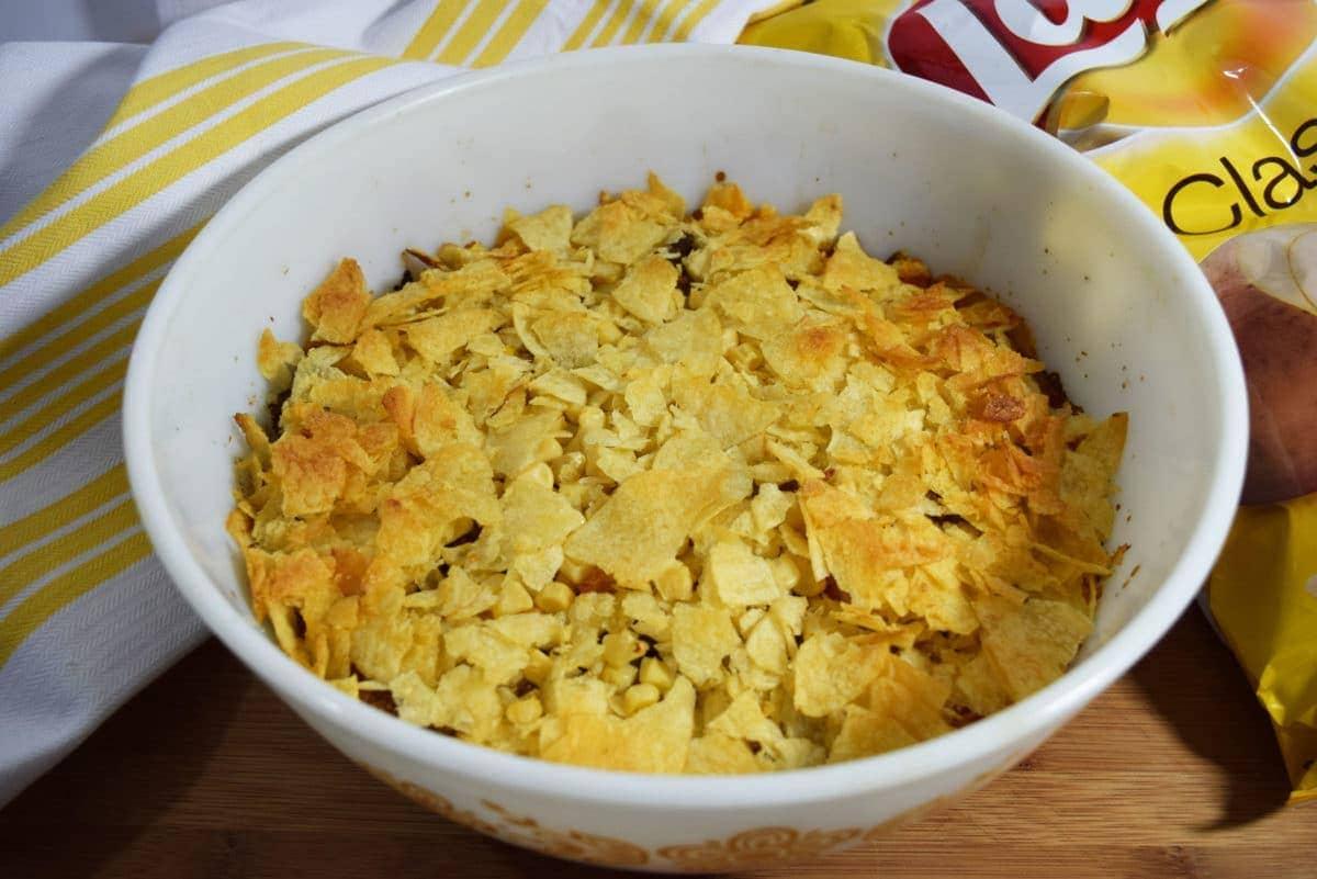 Mimi's Potato Chip Casserole