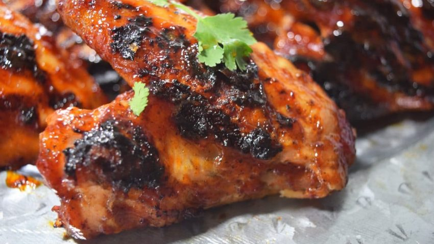 Honey Chipotle BBQ Wing