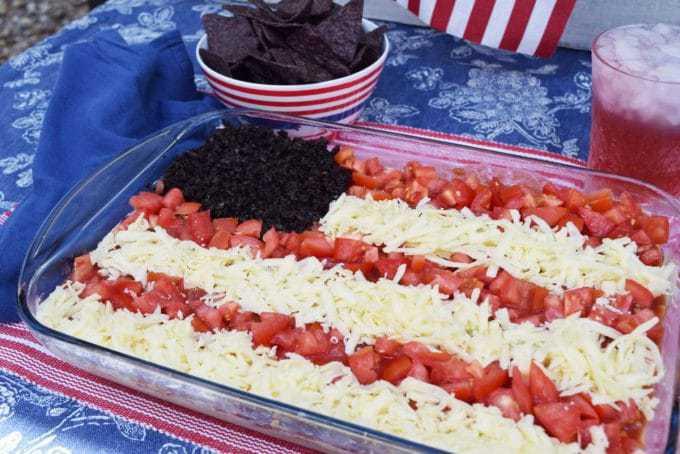 American Flag Dip