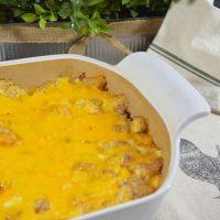 hicken Tender Cheese Casserole