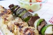 Chicken and Steak Kabobs