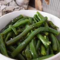 Instant Pot Garlic Butter Green Beans