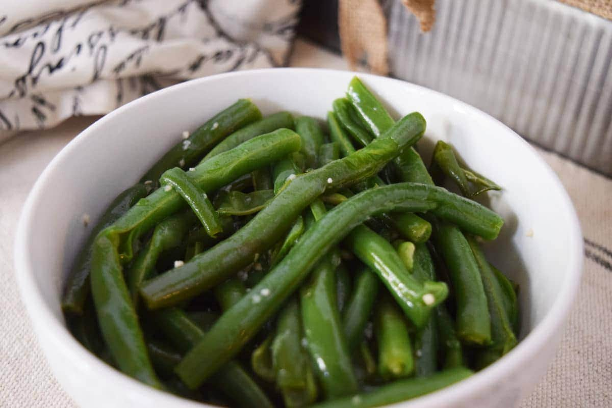 how to prep green beans