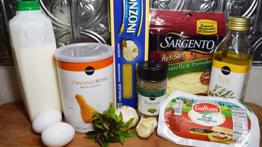 Stuffed Chicken Parm Ingredients