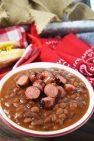 Hot Dog& Hamburger Cowboy Beans