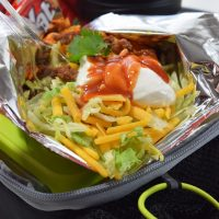 Back to School Lunch Box Walking Tacos