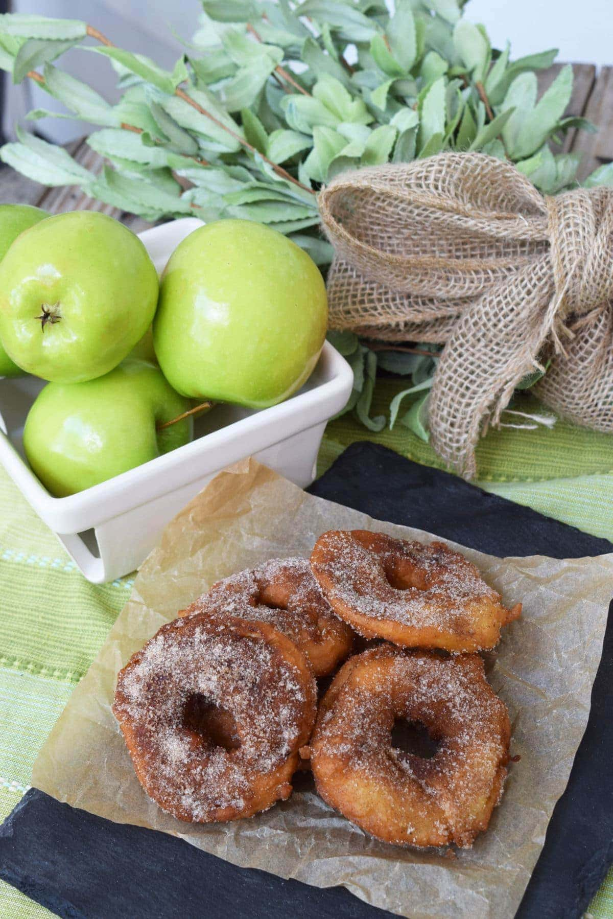 Fried Green Apples