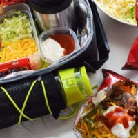 School Lunch Box Walking Tacos