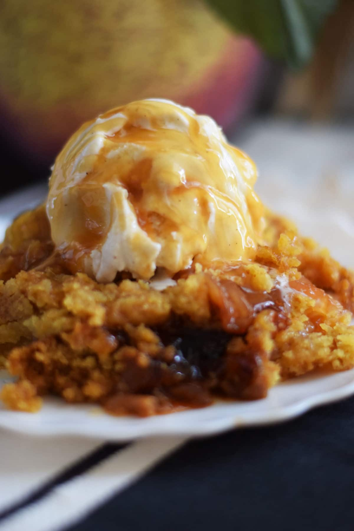 Caramel Apple Dump Cake Soulfully Made