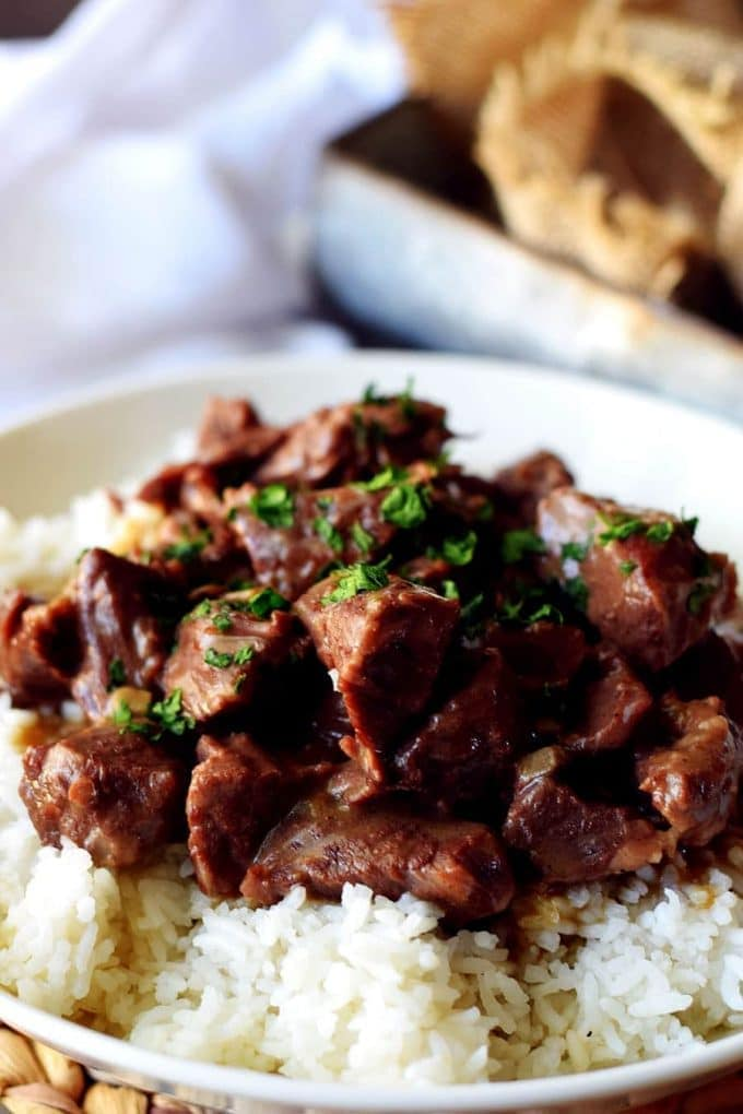 Instant Pot (Pressure Cooker) Beef Tips
