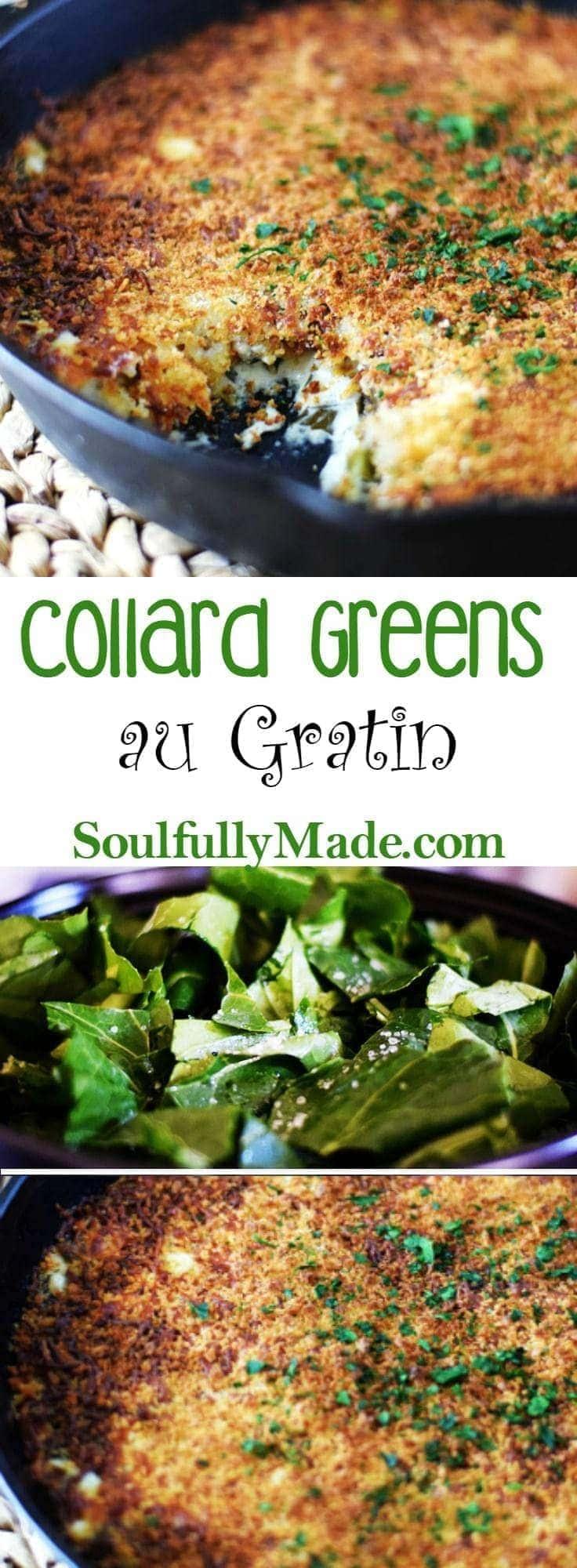 Collard Greens Au Gratin