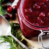 Crock Pot Cranberry Sauce
