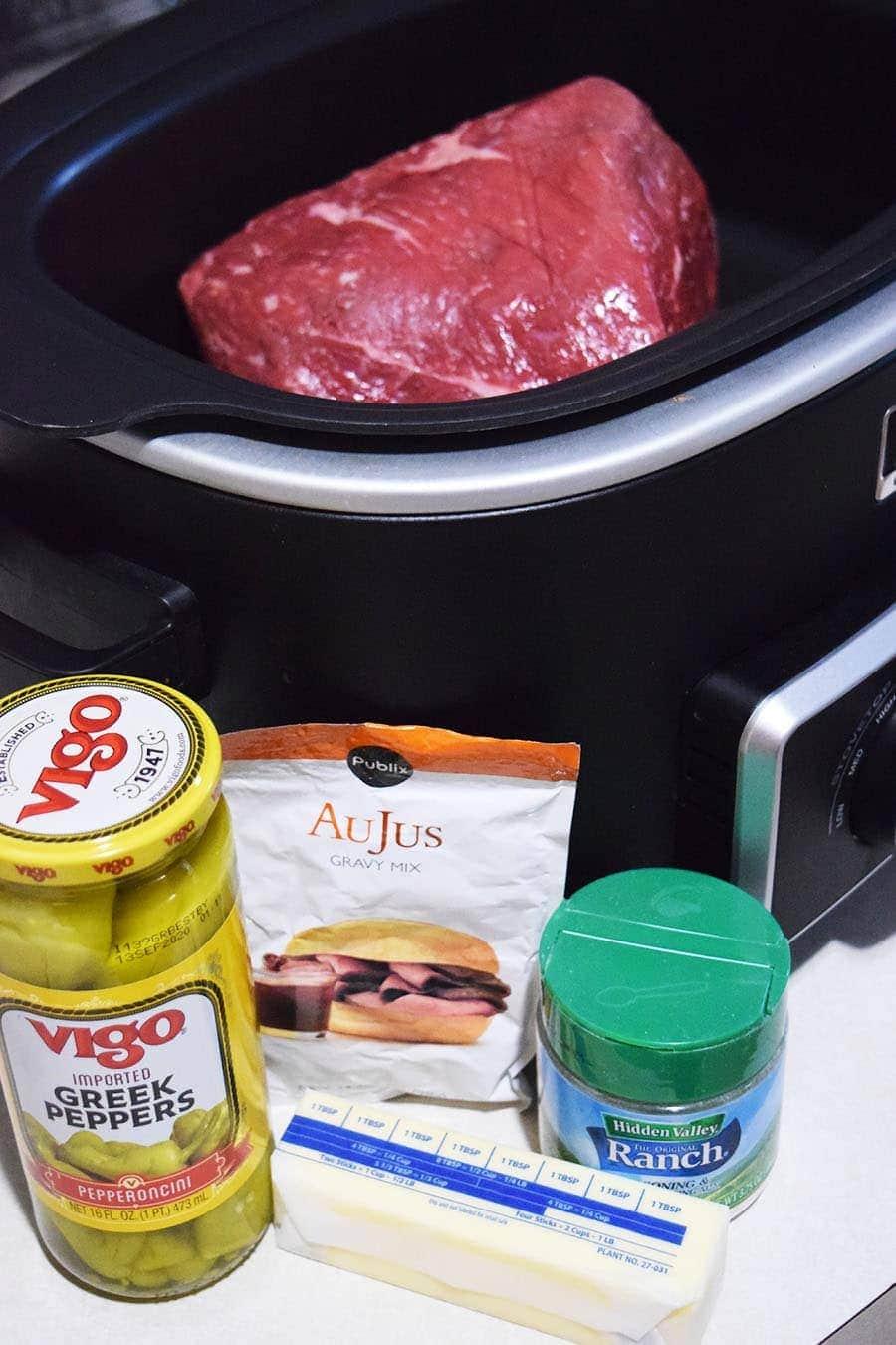 recipe: pepperoncini roast ranch dressing [36]