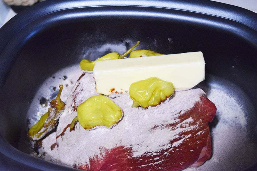 how to make a rump roast in the crock pot