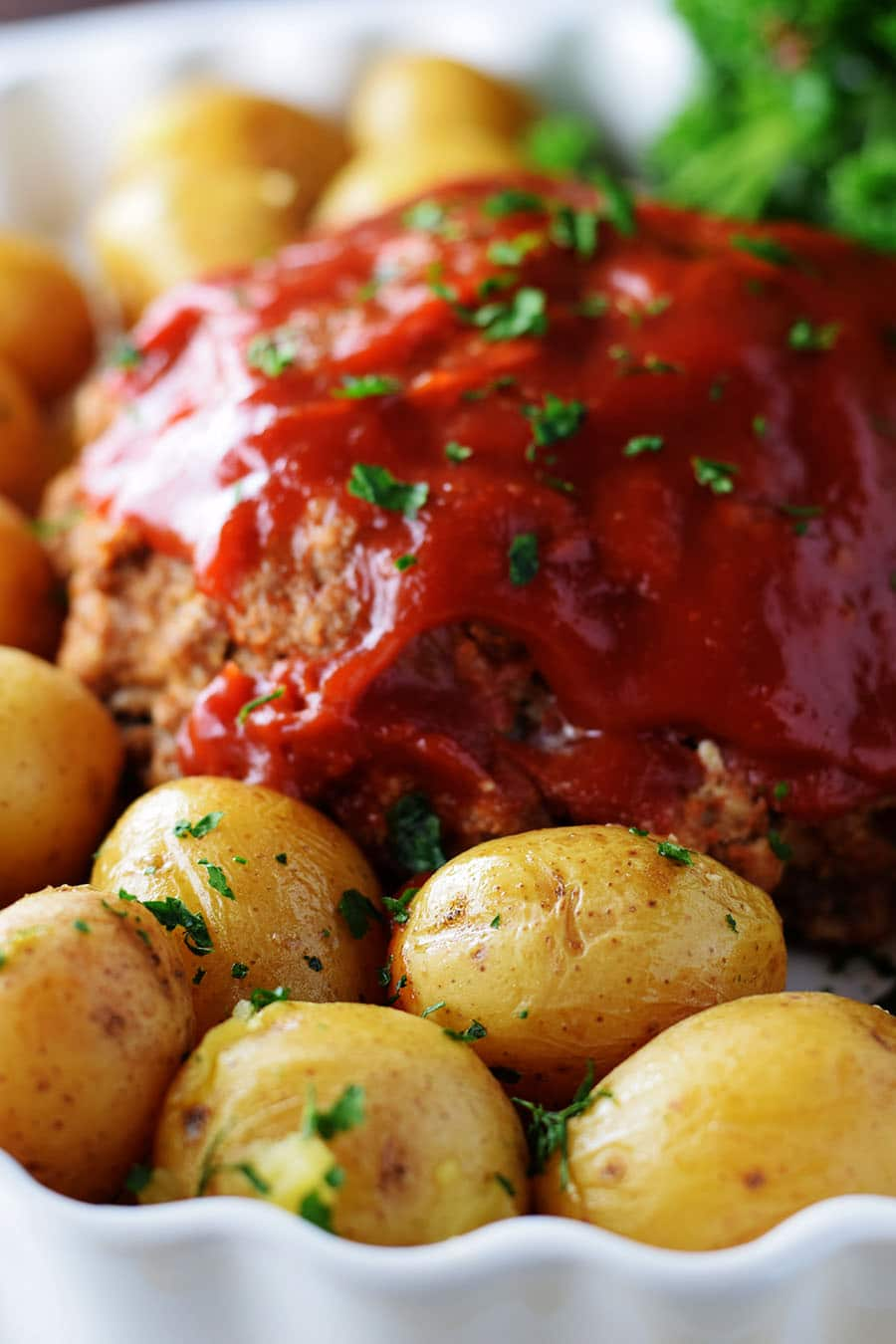Instant Pot Meatloaf and Potatoes | Soulfully Made