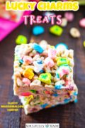 Lucky Charms Cereal Treats Pinterest Image