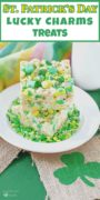 St. Patrick's Day Lucky Charms Pinterest Image