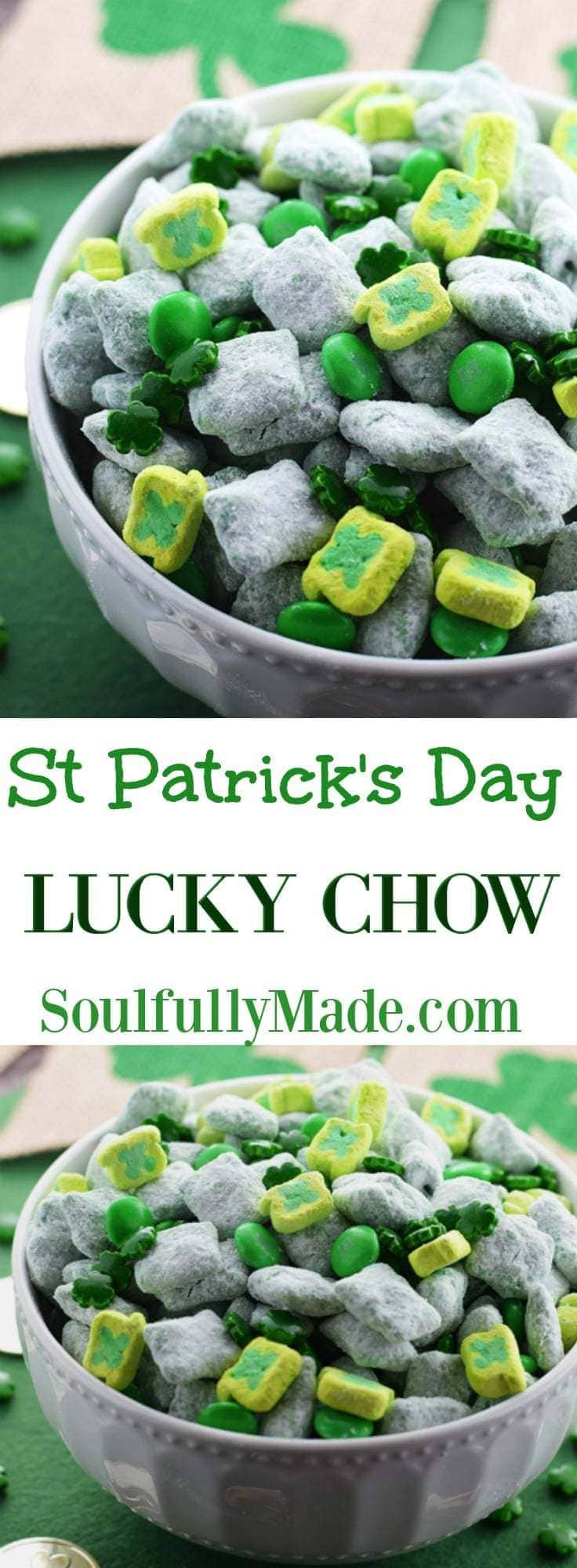 St Patricks Day Lucky Chow