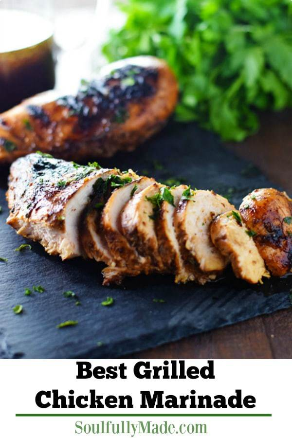 est Grilled Chicken Marinade Pin Image