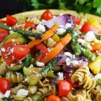 Grilled Summer Vegetable Pasta Salad
