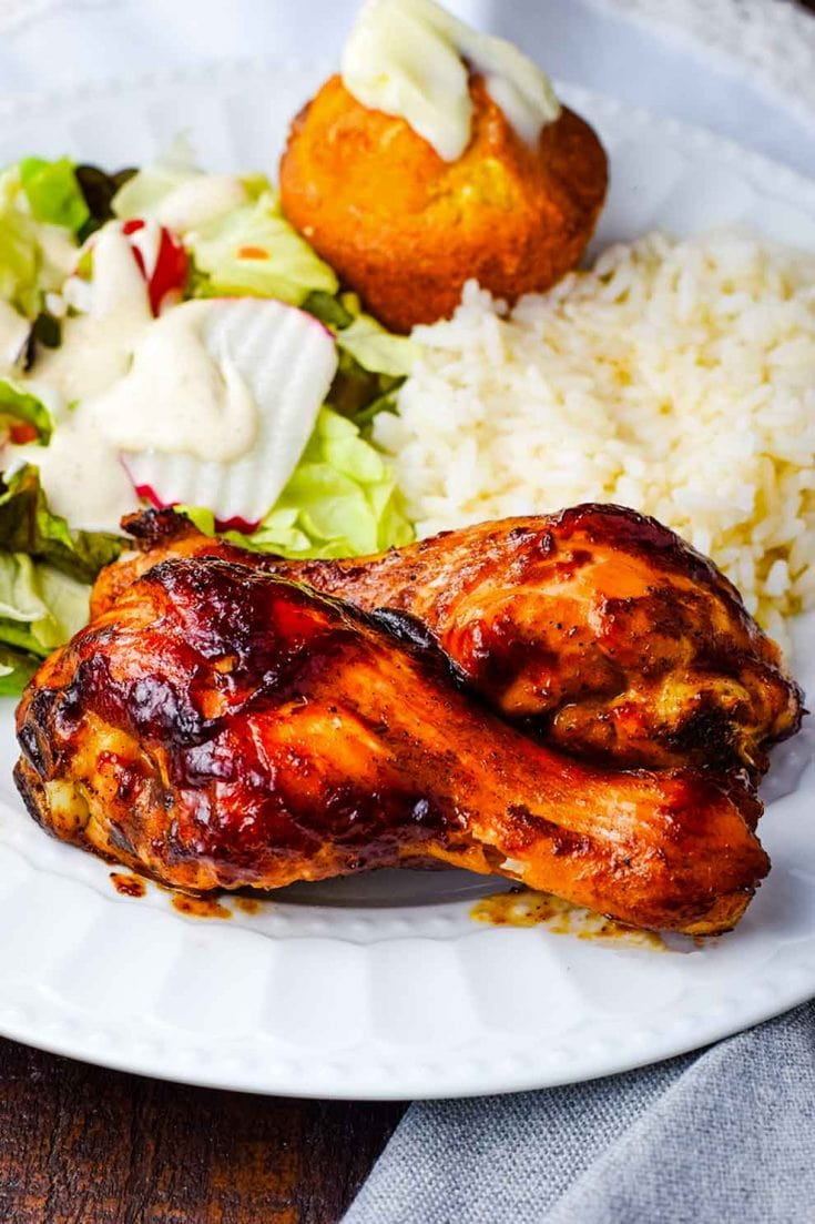 Oven Baked Bbq Chicken Drumsticks Soulfully Made