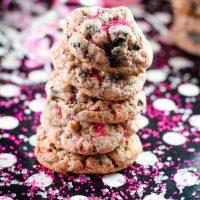 Strawberry Oreo Cheesecake Cookies