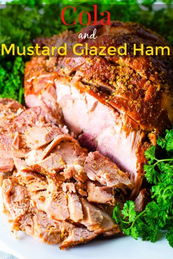 Cola and Mustard Glazed Ham Pin Image